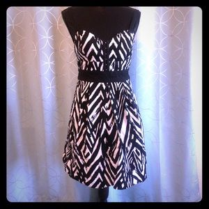 City Triangles Strapped Sundress